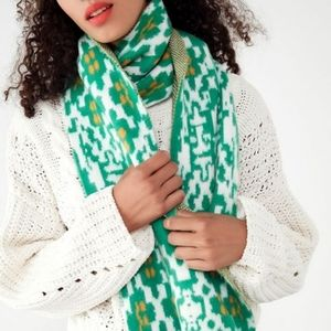 Urban Outfitters Folk Print scarf